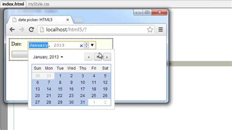 Html Calendar Date Picker Php | Day Calendar Template With Times