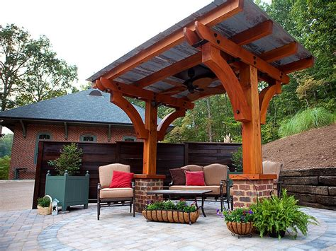 Http Howtospecialist.com Outdoor Two-post-pergola-plans