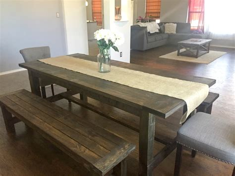 Http Wwwana whitecom 2009 11 Plan modern farmhouse table knock offhtml
