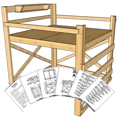 Https Www Oploftbed DIY Bunk Bed Plans