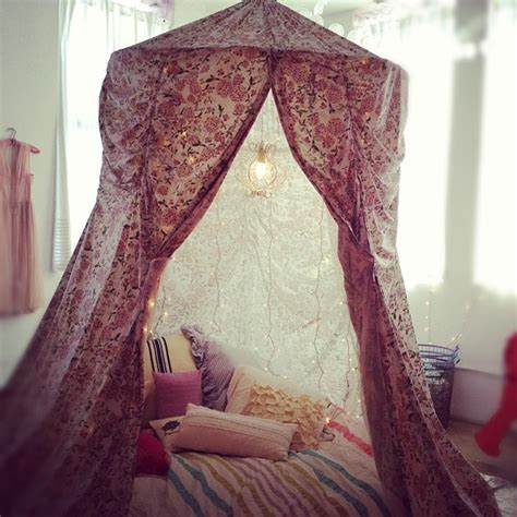 Hula Hoop Bed Canopy Diy