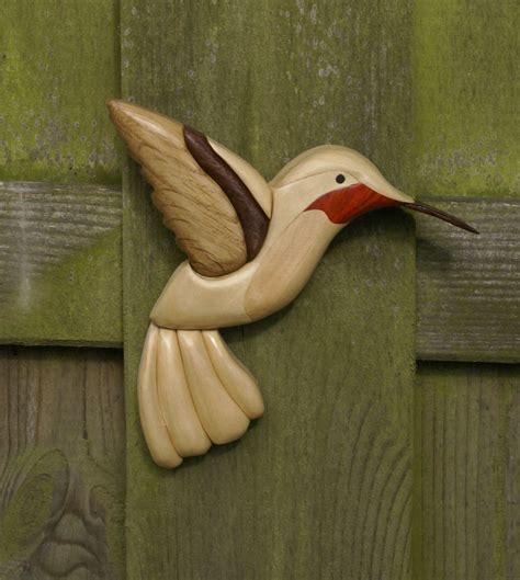 Hummingbird-Intarsia-Plans