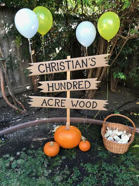 Hundred Acre Wood Sign Diy