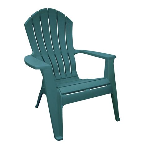 Hunter-Green-Resin-Adirondack-Chairs