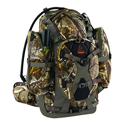 Hunting Day Pack With Rifle Holder And Hunting Rifle Muzzle Energy