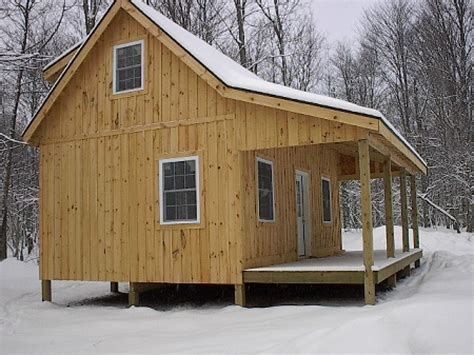 Hunting-Cabin-Plans-With-Loft