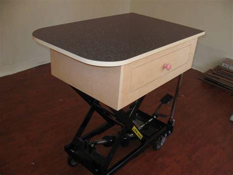 Hydraulic-Grooming-Table-Diy