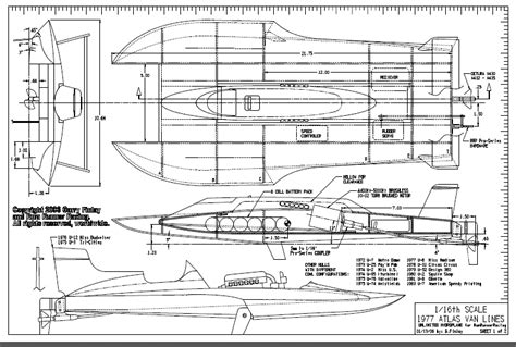 Hydro Rc Boat Plans