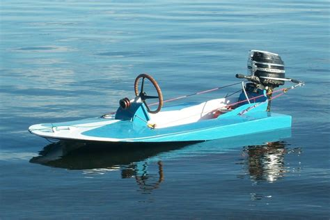 Hydroplane Boat Plans For Sale