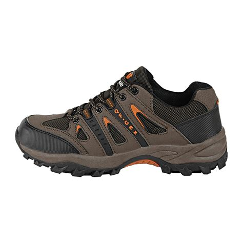 Hyperion II-High Men's Comfort Therapeutic Extra Depth Hiking Shoe Leather/Mesh Lace-up