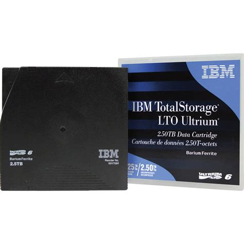 IBM 00V7590L LTO ULTRIUM VI - 2.5TB-6.25TB LABEL