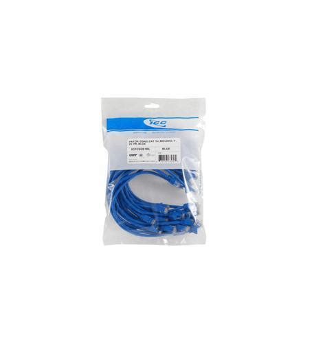 ICC Cat.5e Patch Cable ICPCSC10BL