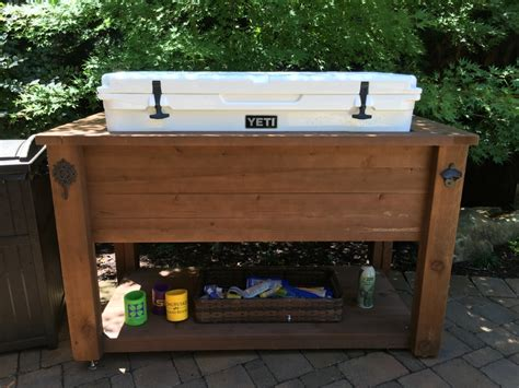 Ice Chest Stand Diy