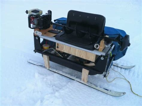 Ice Fishing Sled Design