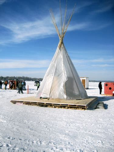 Ice Fishing Teepee Plans