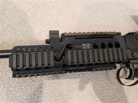 Ics L85 Handguard And Krebs Custom Ufm Keymod Handguard System