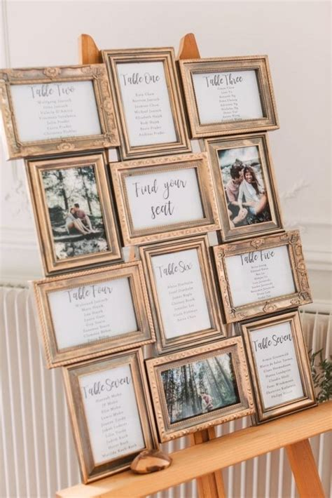 Ideas For Wedding Table Seating Plan