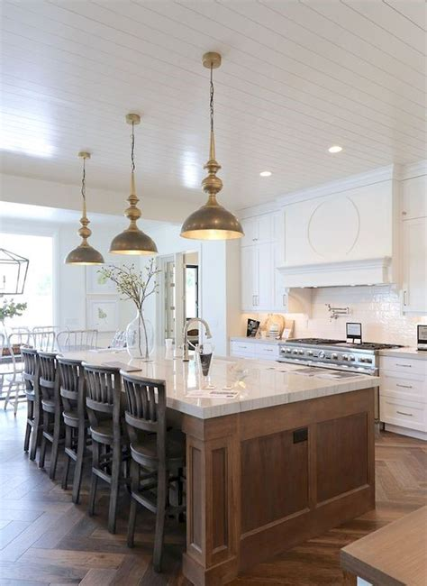 Ideas for decorating a kitchen island Image
