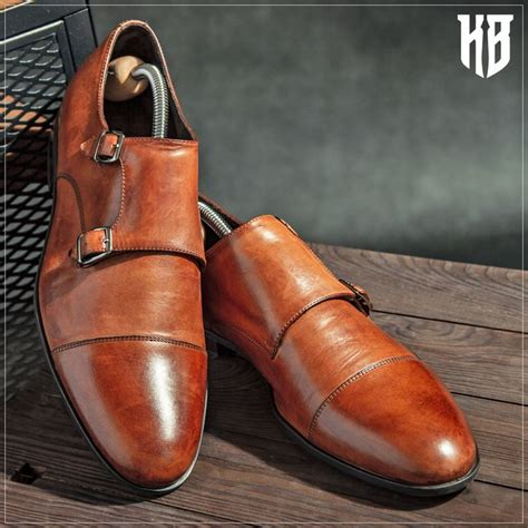 Ignacio Grey Men's Monk Strap Shoes