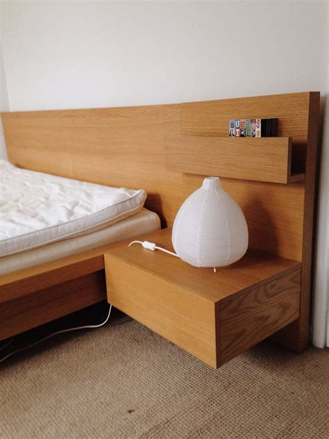 Ikea Bed Frame With Side Tables