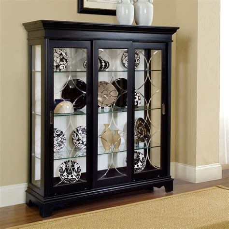 Ikea Contemporary Glass Curio Cabinets