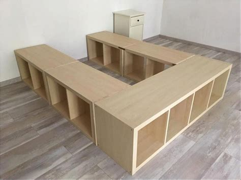 Ikea Diy Queen Bed With Storage