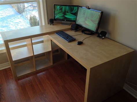 Ikea Expedit Desk Hack