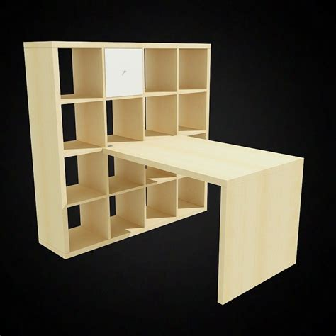 Ikea Expedit Desk Set