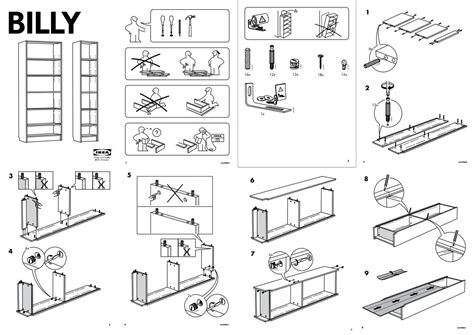 Ikea Furniture Assembly Plans