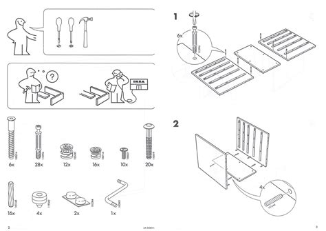 Ikea Furniture Schematics Templates For Word