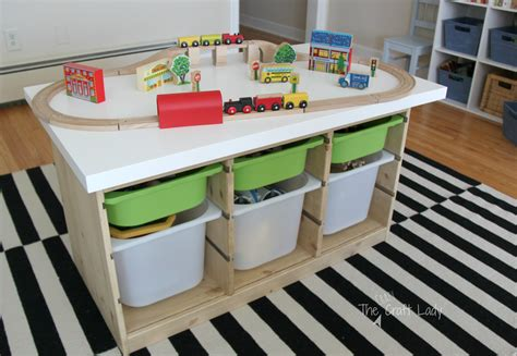Ikea Trofast Train Table Diy