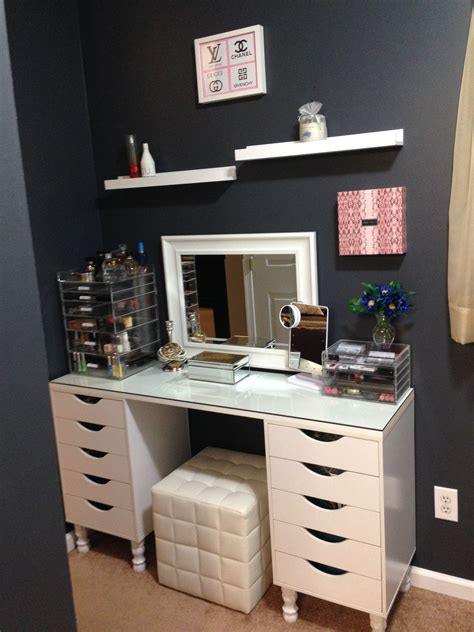 Ikea-Desk-Vanity-Diy