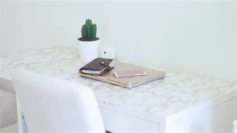 Ikea-Marble-Desk-Diy