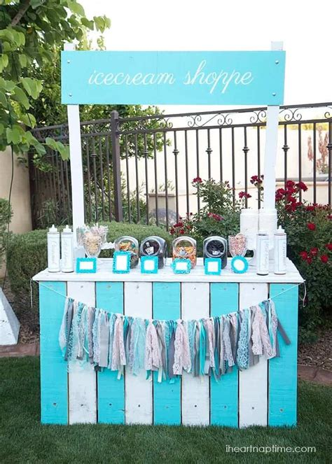 Images Of Diy Ice Cream Stand