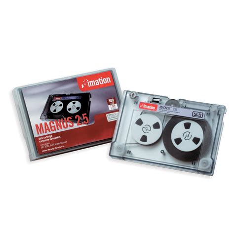 Imation Magnus 2.5 SLR4 Data Tape Cartridge, 2.5GB Native / 5GB Compressed Capacity