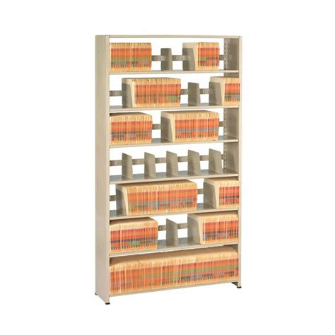 Imperial Filing 6 Shelf Shelving Unit Starter By Tennsco Corp.