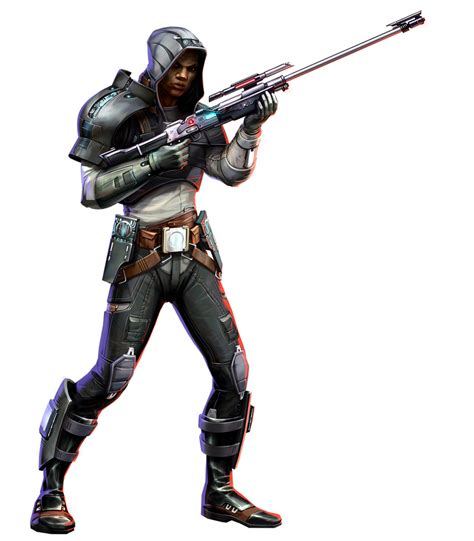 Imperial Agent Sniper Blaster Rifle And L85 Sniper Rifle