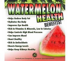 Best Importance of watermelon in diet