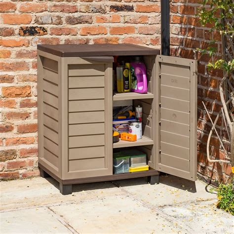 In Side Porch Storage Cabinets