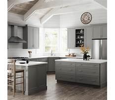 Best In stock hampton bay heron gray cabinets
