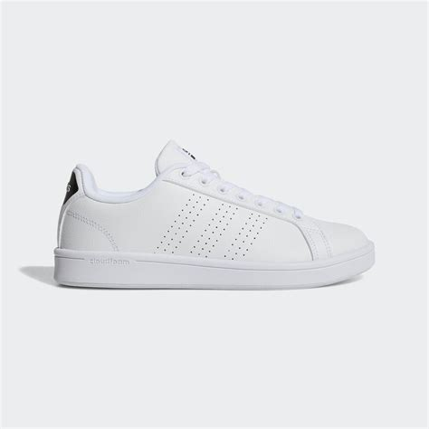 India Adidas Women's Shoes Cloudfoam Advantage Clean Sneakers
