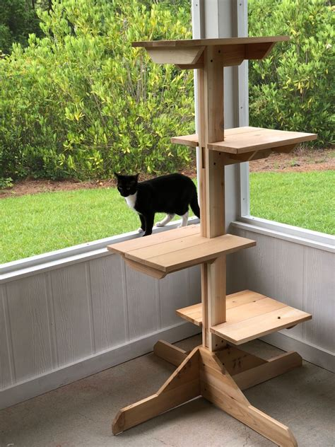 Indoor Cat Tree Plans
