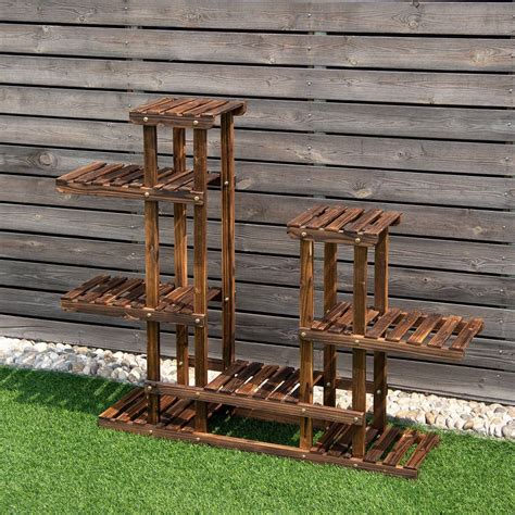Indoor Free 3 Tier Wood Plant Stand Plans