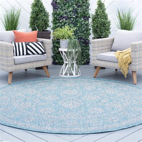 Indoor Outdoor Round Rugs