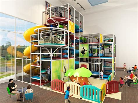 Indoor Play Structure Space Plans Inc