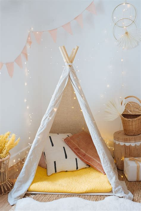Indoor Teepee Tent Diy Kids