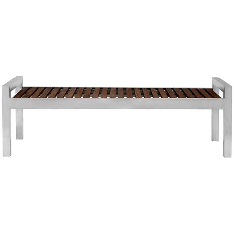 Indoor Wood Benches Commercial Spaces