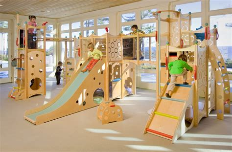Indoor Wood Diy Playset