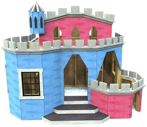Indoor-Castle-Playhouse-Plans