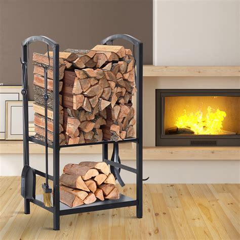 Indoor-Log-Rack